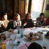 お食事の後はお茶とケーキで。       Besuch Mutter von Virgilius Vogl