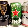 【海外有名ビール】ハイネケン&バドワイザー&ギネスビールを味わって飲みなおした感想・レビュー
