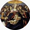サンドロ・ボッティチェリ作品「柘榴の聖母」
