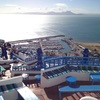 幻想的な世界、そして青と白の世界@チュニジア