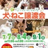 9月1日「犬・ねこ譲渡会」です【長野県上田市】