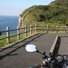 潮俵の断崖と大バエ灯台