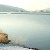雪の諏訪湖とずっと走り続ける息子と自分を振り返る