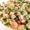 海老と高野豆腐の柚子胡椒麻婆風