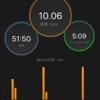 久しぶりに10キロ走した話と、iPhone割った話