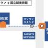 【国立新美術館】東京ミッドタウンからの行き方
