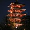 今日の1枚 浅草寺側からの五重塔