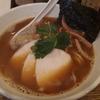 【ラーメン】< 纏(まとい)-めずらしいイカ干しのラーメン->   at 新橋