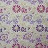 生地 金襴2 花模様織り出し