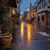 10月11日(金)金曜日の静かな酒場と、台風前夜。