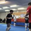 厳しい、格闘競技に挑む若者へ。