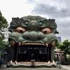 【大阪】大きな獅子殿がインパクト大。難波八阪神社で御朱印をいただく