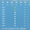 32℃!?もう夏らしい。北海道との比較【モントリオールの位置】
