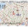 2017年08月02日 20時49分 長野県南部でM3.2の地震