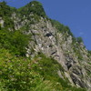黒部丸山東壁「左岩稜」