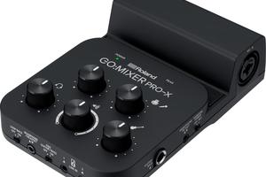 ROLAND、マイクや楽器の接続に対応するスマートフォン用ミキサーGo:Mixer Pro-Xを発表