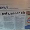 海外の反応 ロンドン地下鉄に清潔な空気を!
