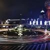 ファーウェイのスマホでスローシャッタータイムラプスで上海の夜景を撮影してみた