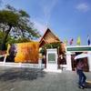 今日の散歩は王宮周辺(バンコク国立博物館)。中国の兵馬俑(へいばよう)は、大人気!