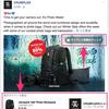 Facebookページの投稿に製品をタグ付けする機能