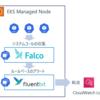 Falcoとaws-for-fluent-bitを使ってCloudWatchにEKSノード上の危険なシステムコール情報を収集する(Proxy環境)