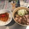 冷(つ)ったい肉そばとカレー風味カツ丼の黄金コンビ~さわばた(山形県山形市)