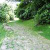浦添市当山(牧港川の遊歩道、当山の石畳道、当山橋)