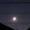土星、木星、月のランデブー
