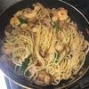 【簡単レシピ】アーリオオーリオ風パスタで夕食を