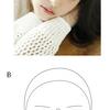 顔面の美しさへの単純描画の試み