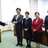 福島県内、市内で新型コロナウィルス感染者の相次ぐ確認を受けて、福島市と県に申し入れ
