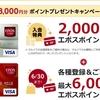 【Getmoney】エポスカード発行で6,000pt+キャンペーン適用で最大8,000円相当ポイントバック!