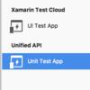 Xamarin関連でDeviceを使ったプラットフォームのUnitTestを行う