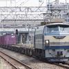 9月2日撮影 東海道線 平塚~大磯間 E235系1000番台、15連フル編成の試運転とEF66-27牽引 5097ㇾを撮る