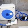 「軽量巻取りホース」と「地下散水栓ニップル」を購入しました。玄関の床洗いに活躍しています