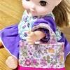 【ハギレ活用】人形用切り替えトートバッグの作り方
