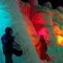 七条大滝で滝見した後は毎年恒例の支笏湖氷濤まつりへ行ってきた!