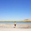 【穴場スポット】ヒヴァから1時間。遺跡を見ながら泳げる塩湖って知ってる?