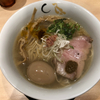 金色不如帰で真鯛と蛤の塩そば(新宿)