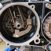 XL200RのエンジンにXL125Rの六速ミッションを移植する(6)
