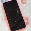 iPhoneの画面がバッキバキに割れました…