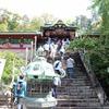 日本平に久能山東照宮と身延山久遠寺を経て石和温泉へ