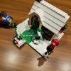番外編  親子でレゴ作り!! 今回はコレ レゴ (LEGO) クリエイター 季節のコテージ 31038★その2