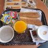 モロッコで朝食!