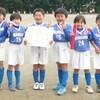 3位!千代田ライガーSCマクドナルド・キッズサッカー2012(1年生)