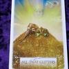 今日のカード ALL THAT GLITTERS