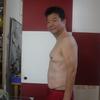 血糖値はかり始めて70日目が過ぎた。「ソフト仕様」体重の推移