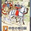 リチャード・プラット文、クリス・リデル絵/長友恵子訳「中世の城日誌~少年トビアス、小姓になる」(岩波書店)-キリスト紀元1285年冬。少年は騎士になるための第一歩を踏み出した。