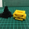 プチブロックで作る ジャックオーランタンの帽子のつくりかた