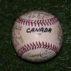 1984年 ロサンゼルスオリンピック 野球競技 7位 カナダ 直筆サインボール